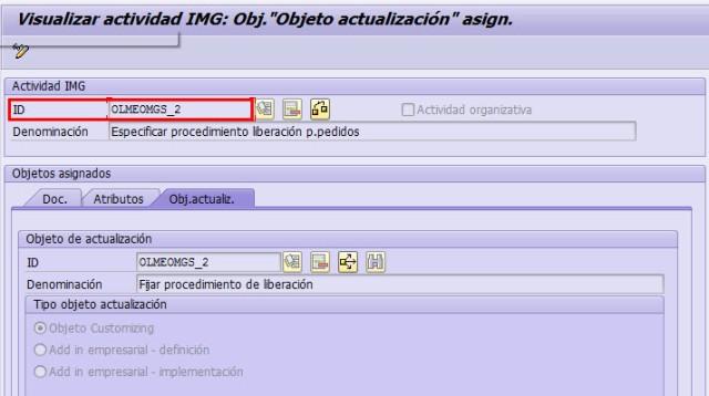 Tcode_SPRO8